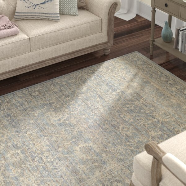 Alison Persian Arabesque Gray/Cream Area Rug by Lark Manor