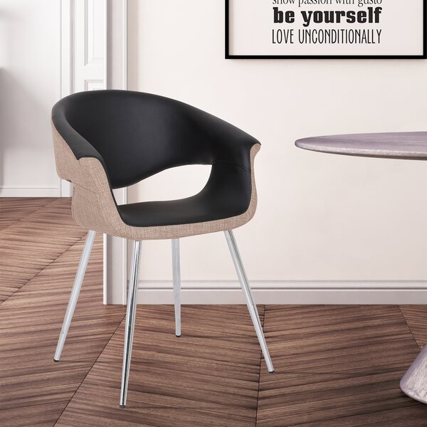 Madrid Upholstered Dining Chair by Wrought Studio