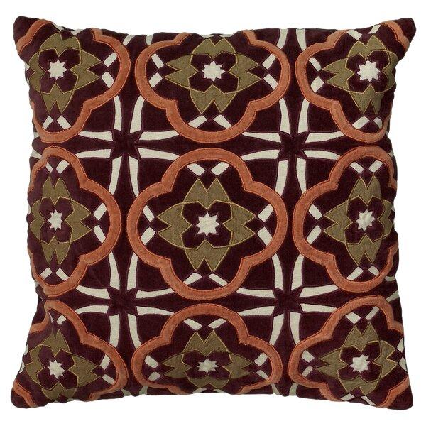 Cytia Cotton Throw Pillow by Wildon Home ®