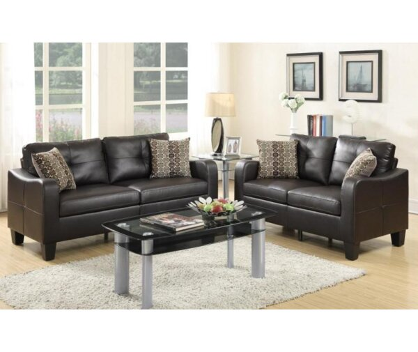 Jelly Sofa and Loveseat Set by A&J Homes Studio