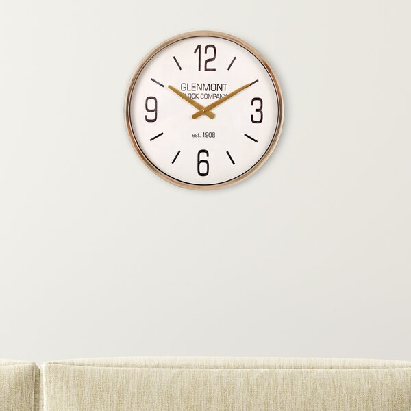 Glenmont 16 Wall Clock by Nielsen Bainbridge