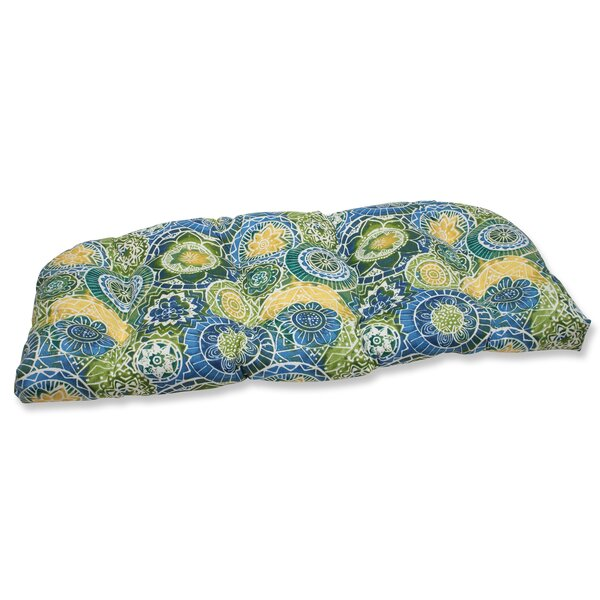 Omnia Indoor/Outdoor Loveseat Cushion by Pillow Perfect