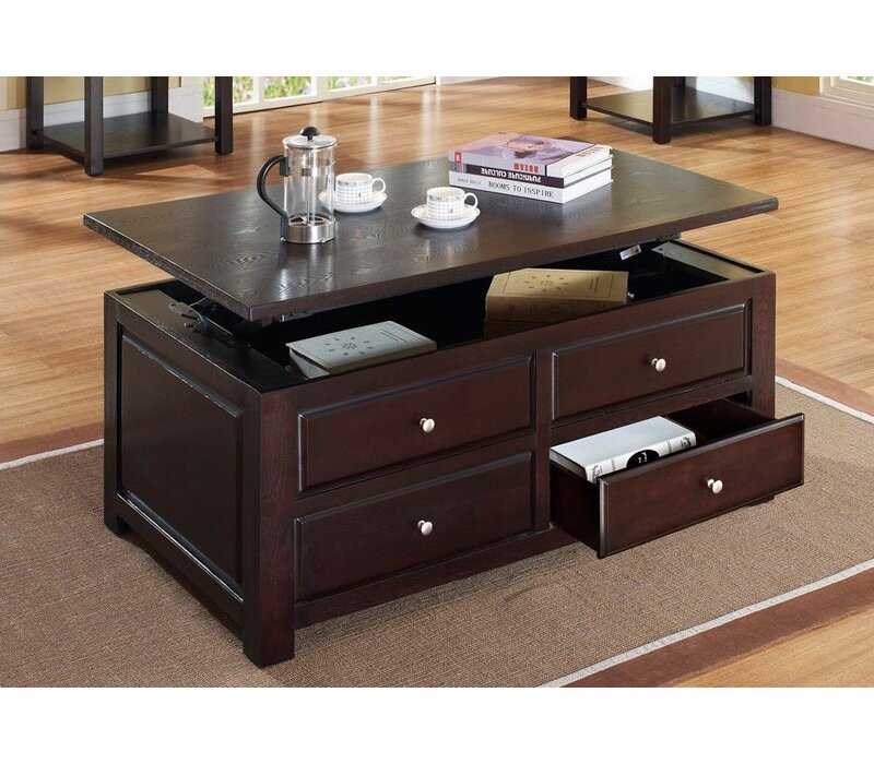 Darby Home Co Englishcombe Lift Top Coffee Table With Storage Wayfair