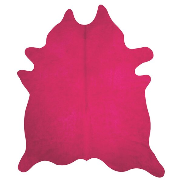 Gemma Cowhide Fuchsi Area Rug by Lifestyle Group Distribution