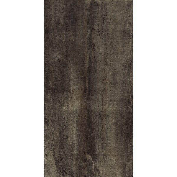 Blocks 18 x 36 Porcelain Field Tile in Rust by Tesoro