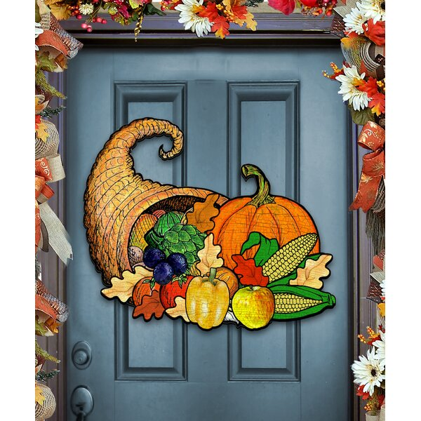 Thanksgiving Door Hanger by The Holiday Aisle