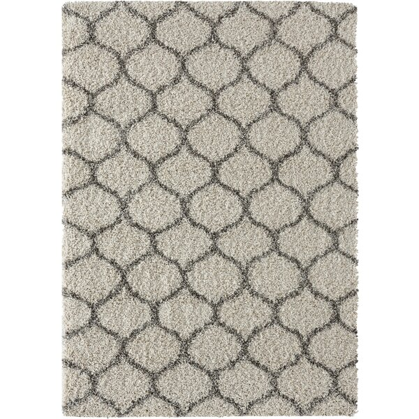 Langner Beige Area Rug by Wrought Studio