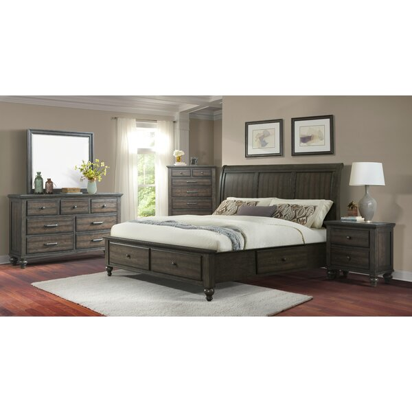 Hednesford Platform 5 Piece Bedroom Set by Alcott Hill