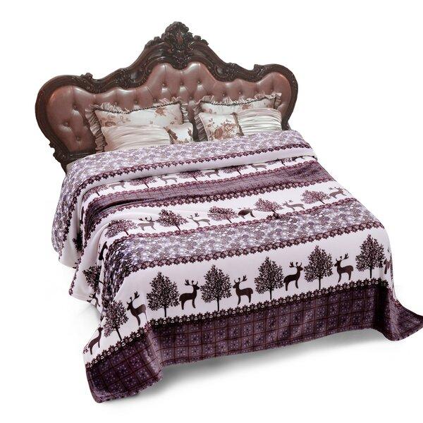 Whetsel Plush Fleece Blanket by Millwood Pines