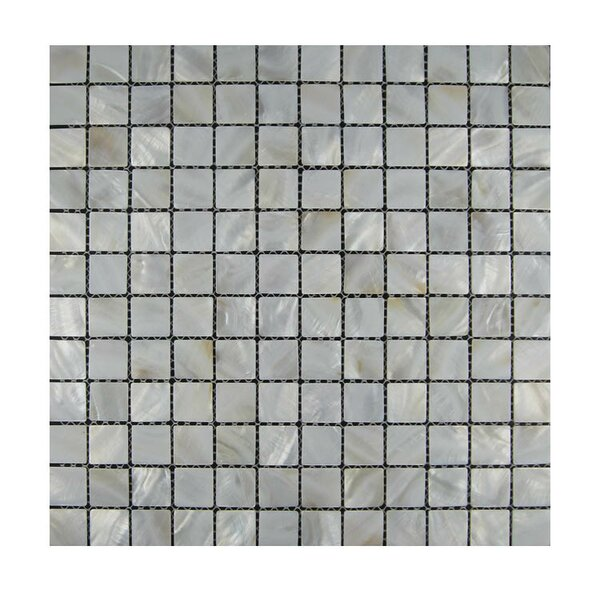 1 x 1 Glass Mosaic Tile in Gray by QDI Surfaces