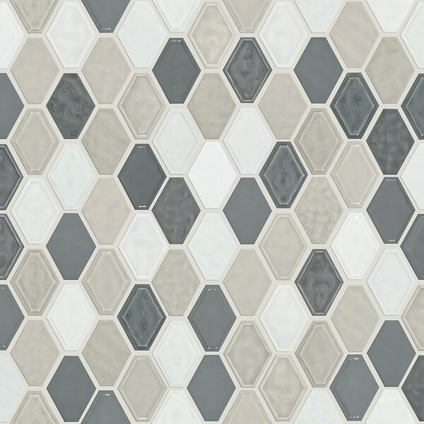 Victoria Diamond 0.5 x 0.5 Ceramic Mosaic Tile in Warm Blend by Shaw Floors
