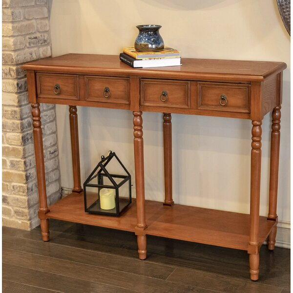 Pierpoint 2 Drawer Console Table by Astoria Grand