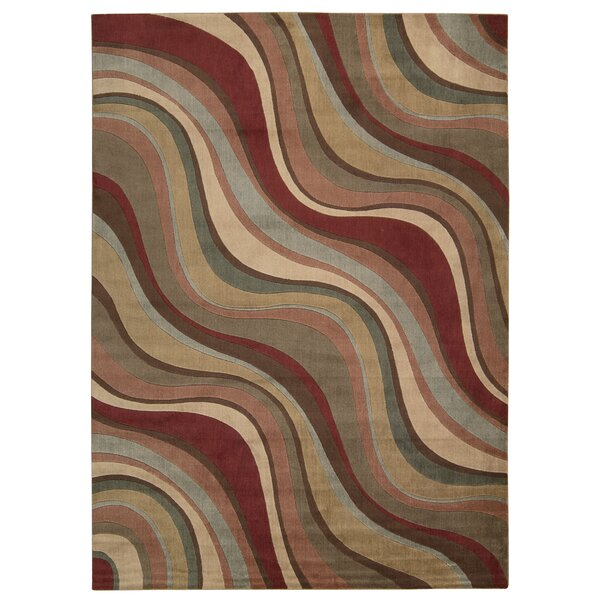 Cherell Brown/Beige Area Rug by Orren Ellis