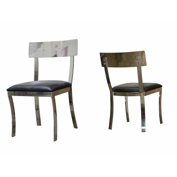 Camargo Modern Upholstered Dining Chair (Set of 2) by Williston Forge
