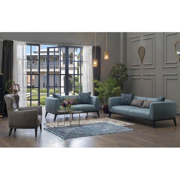 Lofty 3 Piece Living Room Set by Corrigan Studio