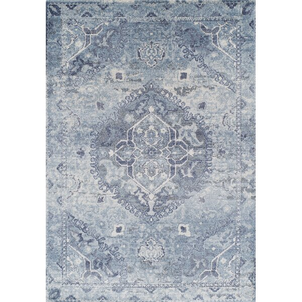 Bevin Blue Area Rug by Ophelia & Co.