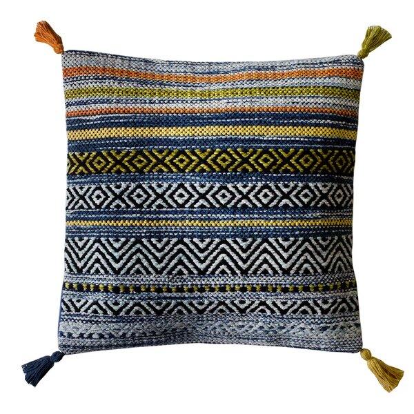Cushions FREE p&p Cushion Cover retro brown striped print 100% cotton zipped 18 & 16