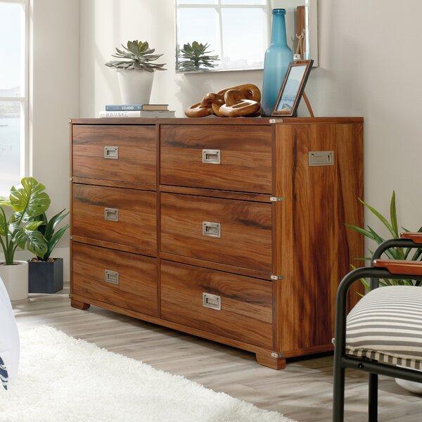 Moran Key 6 Drawer Double Dresser by Longshore Tides