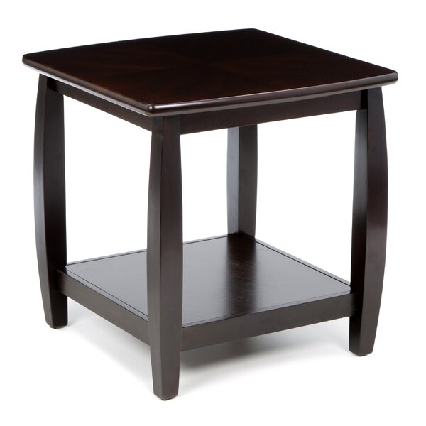 Leroy End Table by Alcott Hill