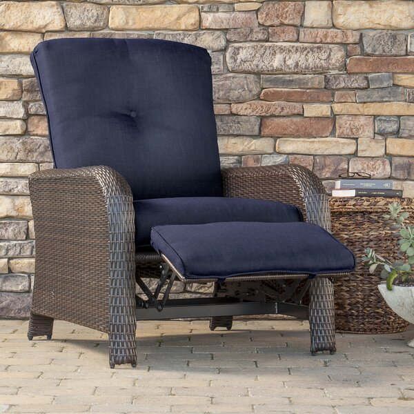 Barrand Luxury Recliner Chair with Cushion by Darby Home Co