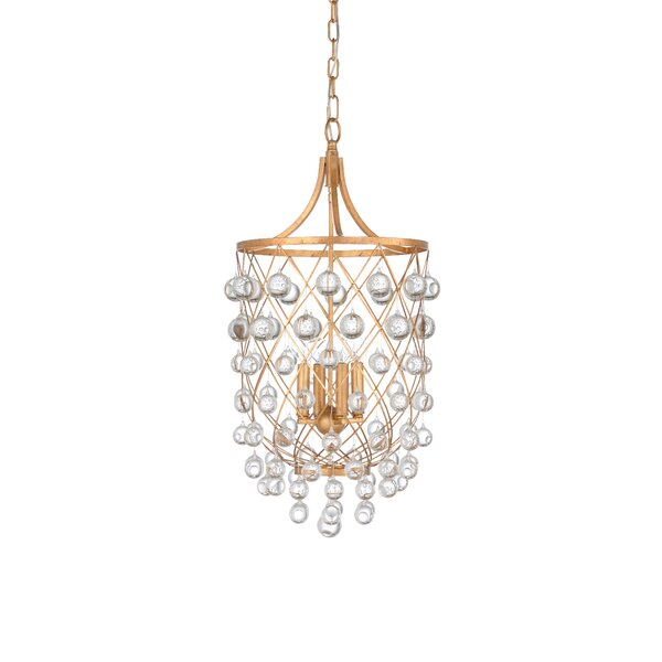 Bubbles 4 - Light Lantern Geometric Chandelier by Wildwood Wildwood
