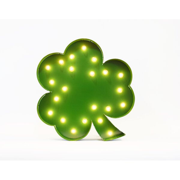 Shamrock Marquee Light Marquee Sign by The Holiday Aisle