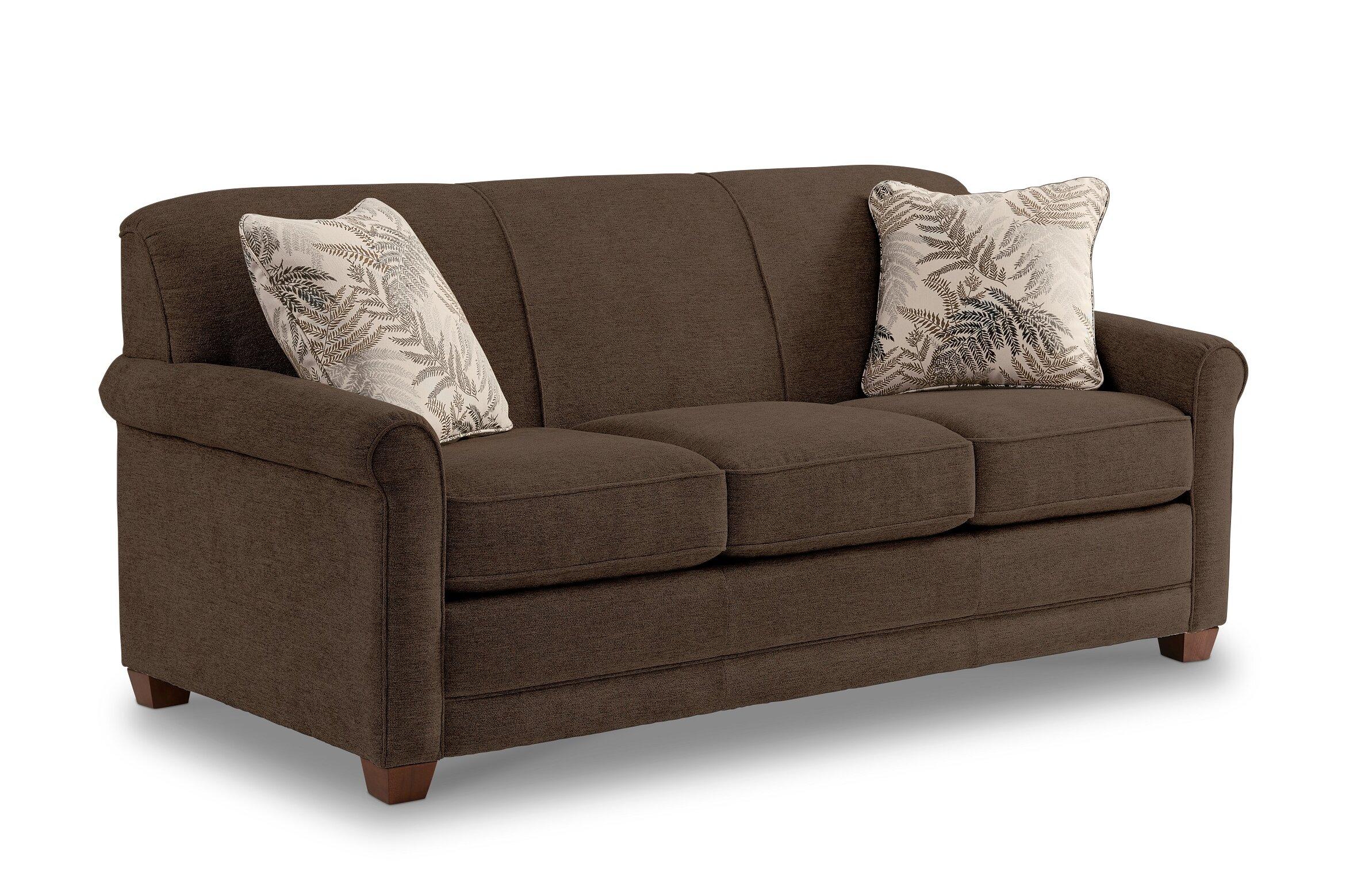 La Z Boy Amanda 79 Round Arms Sofa Bed