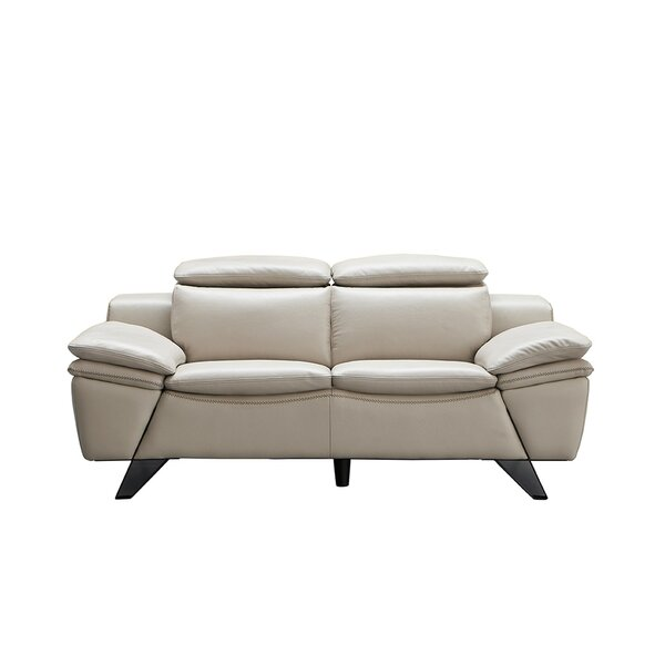 Nevin 2 Piece Leather Living Room Set by Orren Ellis