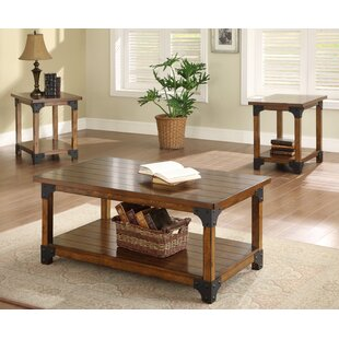 William 3 Piece Coffee Table Set  sc 1 st  Wayfair : coffee tables sets - pezcame.com