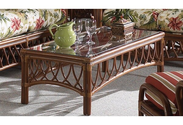 Antigua Coffee Table by South Sea Rattan South Sea Rattan