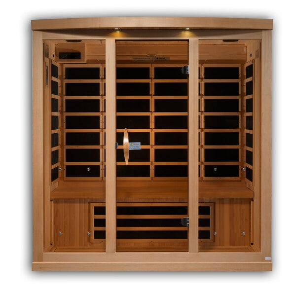 Full Spectrum 4 Person FAR Infrared Sauna by Golden Designs