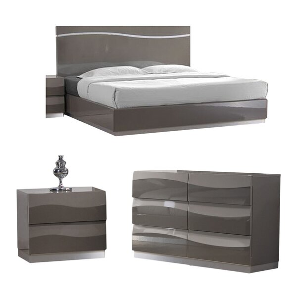 Clayfield Platform Configurable Bedroom Set by Wade Logan| @ $1,862.95
