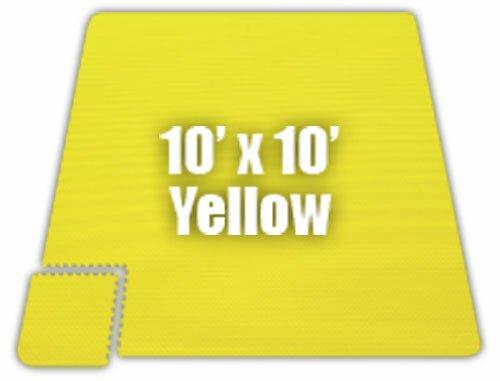 Premium SoftFloors Set in Yellow by Alessco Inc.