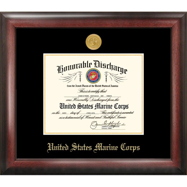Marine Discharge Picture Frame by Patriot Frames