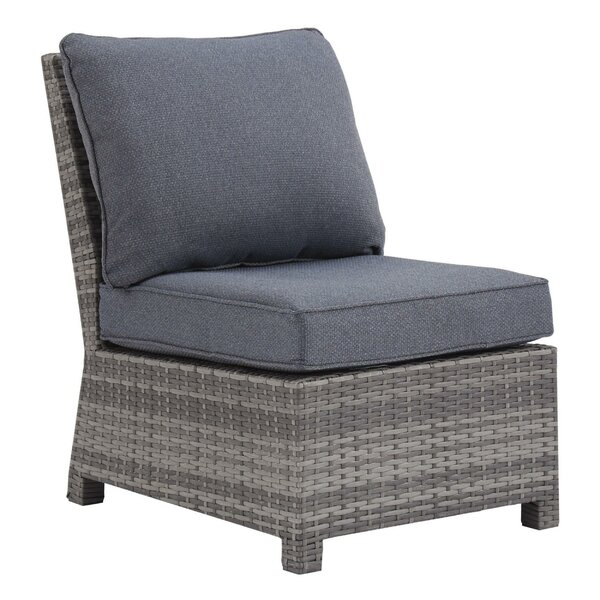 Oologah Patio Chair with Cushions by Latitude Run