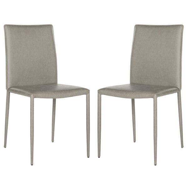 Clingman Patio Dining Chair with Cushion (Set of 2) by Brayden Studio