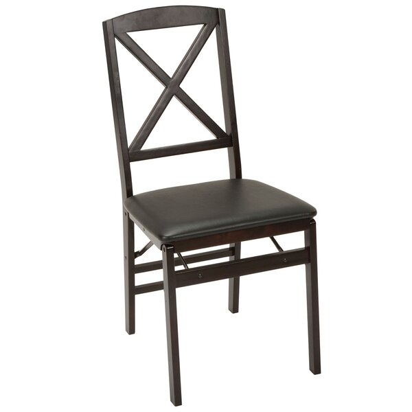 Vinyl Padded Folding Chair (Set of 2) by Cosco Home and Office