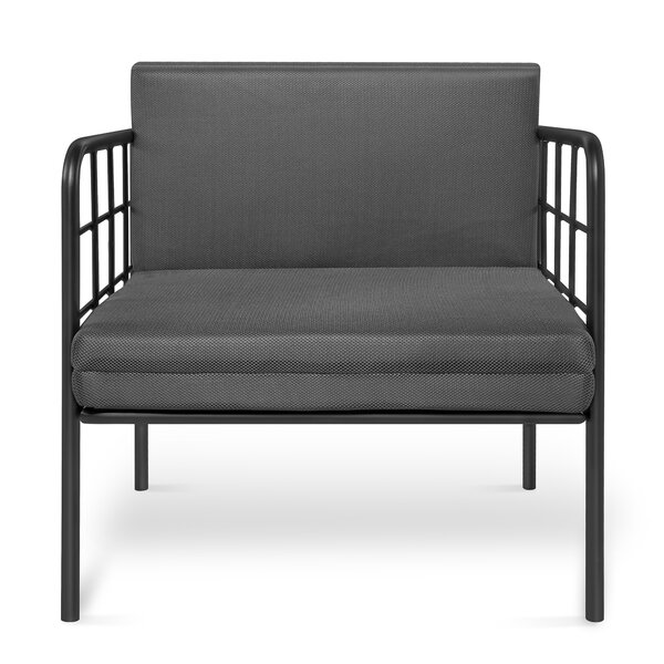 Munroe Patio Sofa with Cushions by Williston Forge Williston Forge
