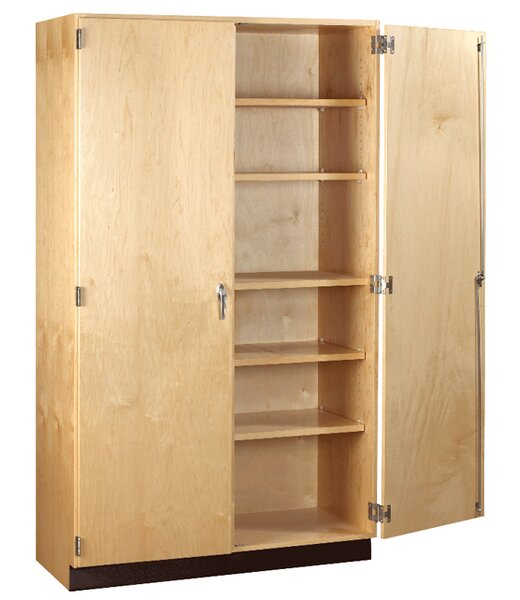 General 2 Door Storage Cabinet by Diversified Woodcrafts