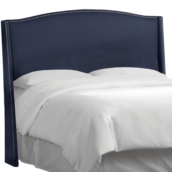 Patriot Upholstered Wingback Headboard by Skyline Furniture