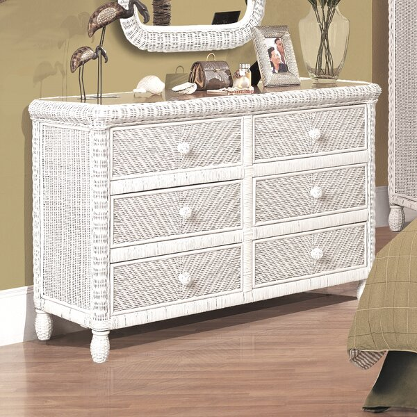 Alicia 6 Drawer Dresser by Bay Isle Home
