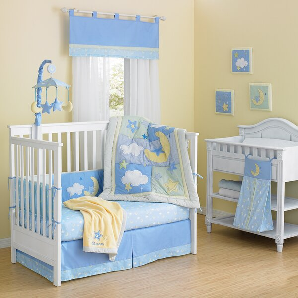 Finch Cotton quilted 10 Piece Crib Bedding Set by