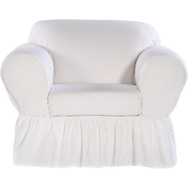 Chair Skirted Slipcover by August Grove