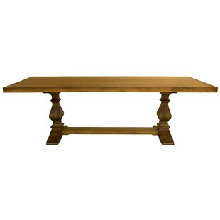 Balduíno Maple Extendable Solid Wood Dining Table by One Allium Way
