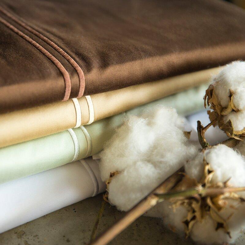 Malouf 600 Thread Count Egyptian Quality Cotton Sheet Set