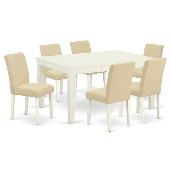 Branca 7 Piece Extendable Solid Wood Dining Set by Winston Porter Winston Porter
