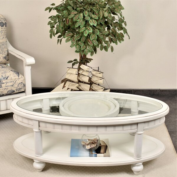 Kolya Coffee Table With Storage By Highland Dunes