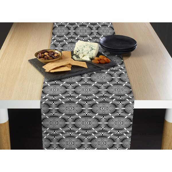 Lorenzen Twilight Zone Milliken Signature Table Runner by Ivy Bronx
