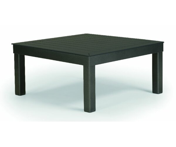 Ashbee Aluminum Coffee Table by Telescope Casual
