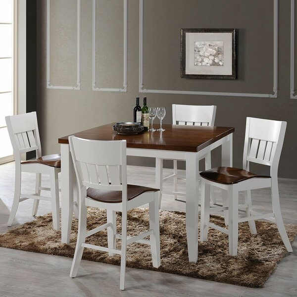 Chauncey 5 Piece Pub Table Set by Red Barrel Studio